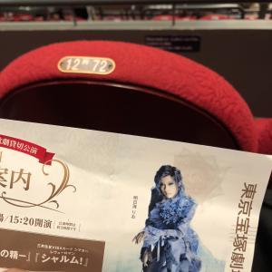 うみがめの週末・・・東京宝塚劇場へ