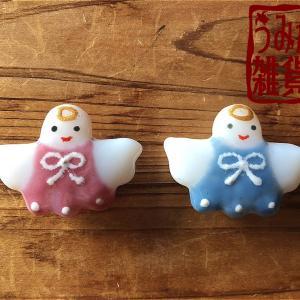 クリスマス特集♪ 天使の帯留め 2色