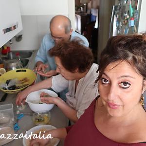 ナポリ料理教室@ナポリの伝統料理を学びたい!