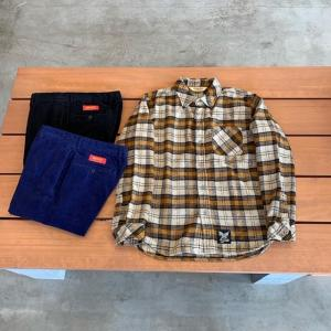 SOFTMACHINE FUZZY SHIRTS(FLANNEL SHIRT) 入荷です!!