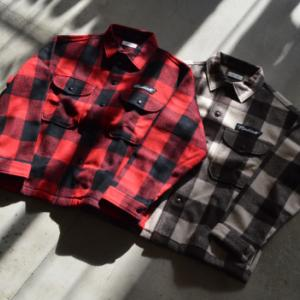 "RADIALL ""FLAGS - REGULAR COLLARED SHIRT L/S"""