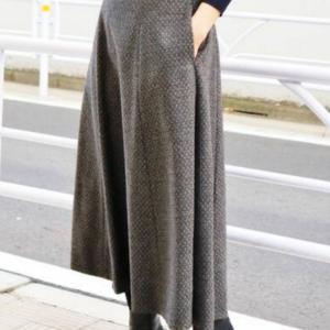 冬のファッション(特にスカート)