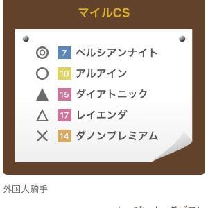 【マイルCS】