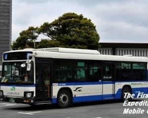 【ラッピング解除】ジェイアールバス関東・東関東支店・L531-16506(JRバス関東×バスもり!・スマホ定期券)