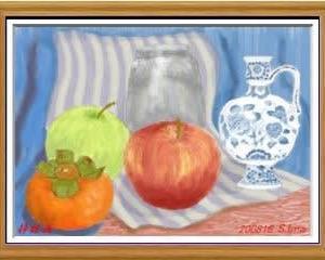 PCでお絵描き(2010-6月の課題 '静物画')-277