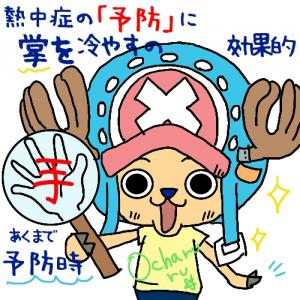 熱中症の予防に((φ(-ω-`*)