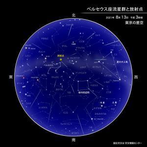 ペルセウス座流星群☆彡の時期(・ω・)/