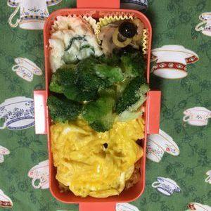 今日のお弁当(久しぶりすぎた)