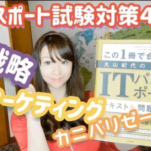 【ITパスポート】試験対策4回目【カニバリゼーション・プル戦略・webマーケティング】