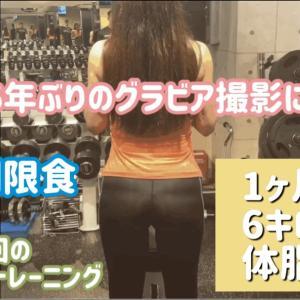【筋トレ&糖質制限ダイエット】筋肉を落とさず、6キロ減、体脂肪5%ダウン