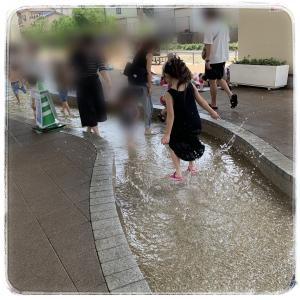お散歩コースは夏のオススメれしゅ!