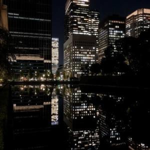 東京は夜の7時🎵