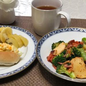 今朝の朝食 イタリアン