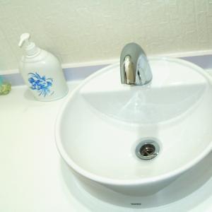 パブリックトイレ、衛生的な自動水栓