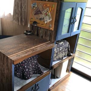 食器棚のDIYパート2