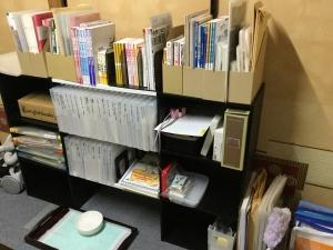 テキスト、ワークブック、ソングなど整理整頓