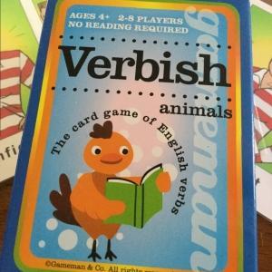 形容詞、感情カードゲーム、Verbish風味