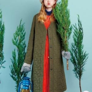 ZOZOTOWN のMOOMIN ムーミン リトルミイ キルティングコートが可愛すぎる。