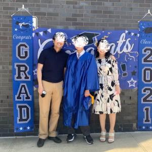 卒業しました!