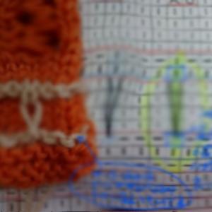 今夏の編物教室