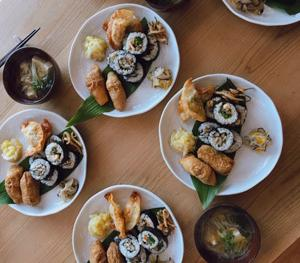 重ね煮料理教室...巻き寿司・いなり寿司