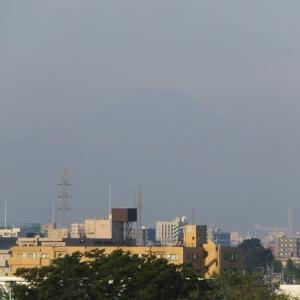 9月22日の富士山!