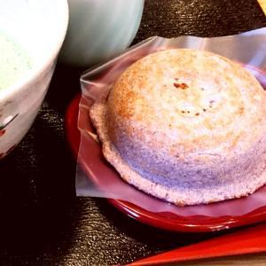 古代米の梅ヶ枝餅
