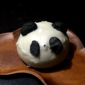 パンダの餡饅