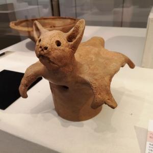 ネコの足跡がついた須恵器