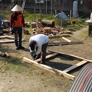 木こり部の部活動