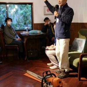 木こりのトークショー