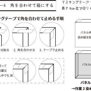 作業1-4 角を合わせて箱にする