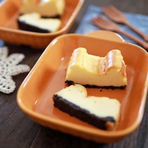 チーズケーキと半生ガトーショコラ☆入学と進級のお祝いに、それぞれ好きなケーキを焼きました