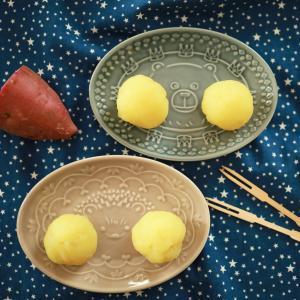 さつまいもの蒸しようかん☆片栗粉とレンジで簡単シンプル♪
