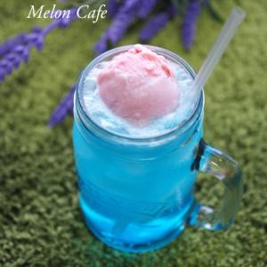 可愛い色のクリームソーダ☆「ナースときどき女子」に掲載されました