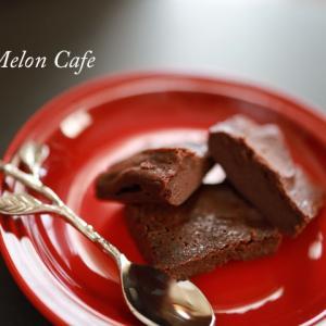 「半生ガトーショコラ」少量サイズで作ってみました☆レシピブログのエアーオーブンで様々なお料理を作ろう♪モニター参加レシピ