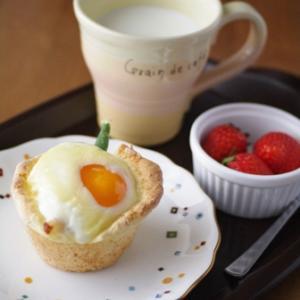 ベーコンエッグチーズカップ☆くらしのアンテナ掲載ありがとうございます