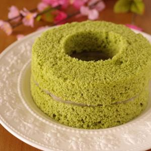 ホットケーキミックスの抹茶シフォンケーキ☆「くらしのアンテナ」掲載、ありがとうございます