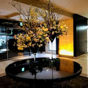 春先どり 人間ドック後のシェラトン都ホテル大阪のビュッフェランチ