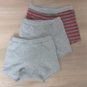 男の子パンツ(ボクサーパンツ)を縫いました。④