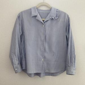 Mパターン研究所 オープンカラーシャツ 2枚目。