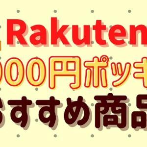 楽天の買い回りにおすすめ!1000円ポッキリ商品
