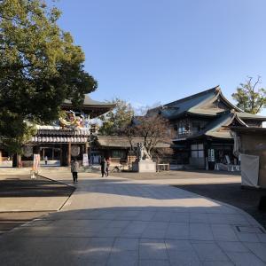 厚木の寒川神社!