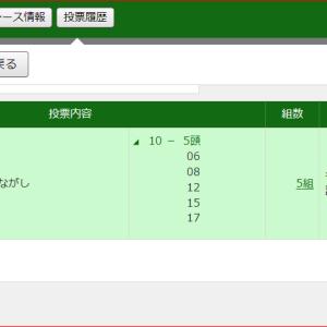 ★小倉8R-ワイド73.8倍的中