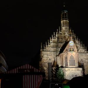 食事がてらの旧市街探索@Nuremberg