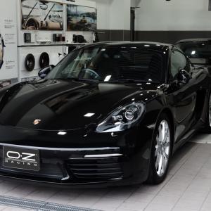納車っ!いよいよポルシェが我が家にやってきた。。。Porsche 718 Cayman S