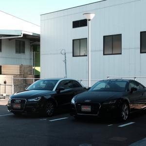 Audi A1ドック入り@長崎