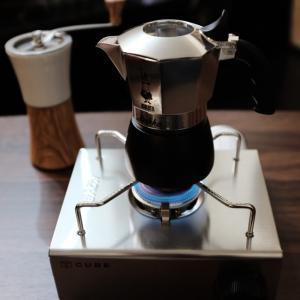 ファースト インプレッション。。。HARIO ハリオ セラミックコーヒーミルとBIALETTI new Brikka ビアレッティ ニュー ブリッカ
