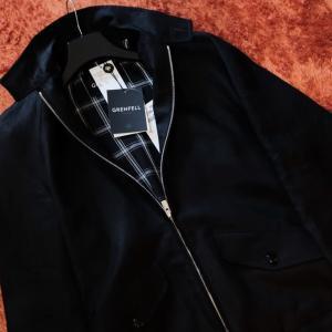 少し肌寒い季節の変わり目に。。。ハリントンジャケット購入 GRENFELL GOLFER(グレンフェル ゴルファー)