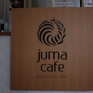A1でガッツリとハンバーガーモーニング@juma cafe
